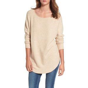 Dreamers Shirttail Hem Oversized Sweater